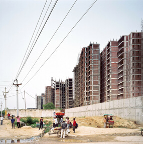 Patrick Tourneboeuf - Next City - New Delhi